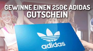 250 Euro Adidas Gutschein