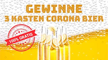 Corona Bier Gewinnspiel