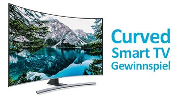 Curved Smart TV Gewinnspiel