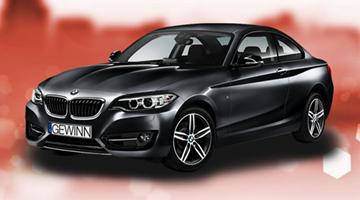 2er BMW Coupe Gewinnspiel