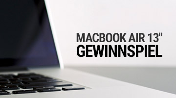 Apple Macbook Air Gewinnspiel