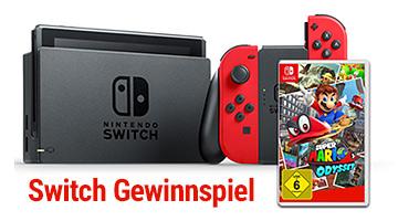 Win Nintendo Switch Super Mario Edition (DE)