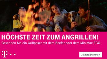 Telekom Angrillen Gewinnspiel