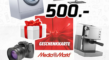 Mediamarkt Geschenkkarte