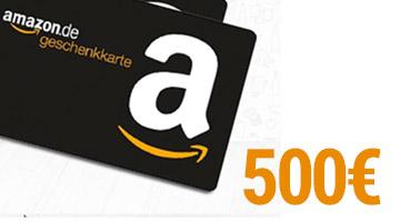 Amazon Geschenkkarte Gewinnspiel