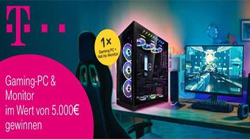 Telekom Gaming Spaß Gewinnspiel