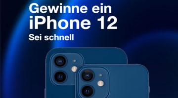 Gewinne ein iPhone 12