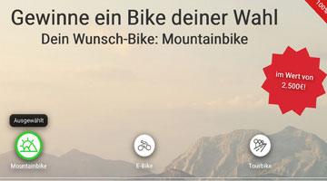 Bike Gewinnspiel