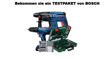 Bosch Testpaket Gewinnspiel