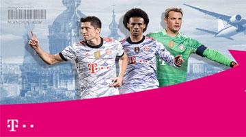 Telekom Gewinnspiel - Champions League Reise